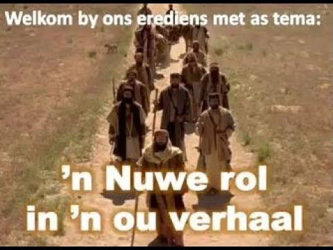 2018-05-13 n Nuwe rol in n ou verhaal Ds Ds Hannes van der Merwe