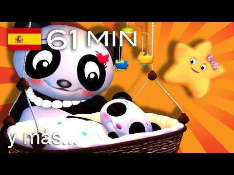 Duérmete, niño | Y muchas más canciones infantiles | ¡61 min de LittleBabyBum!