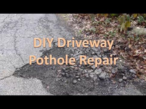 Diy driveway pothole repair youtube diy driveway pothole repair solutioingenieria Image collections