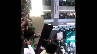 national anthem of pakistan in dubai mall uae