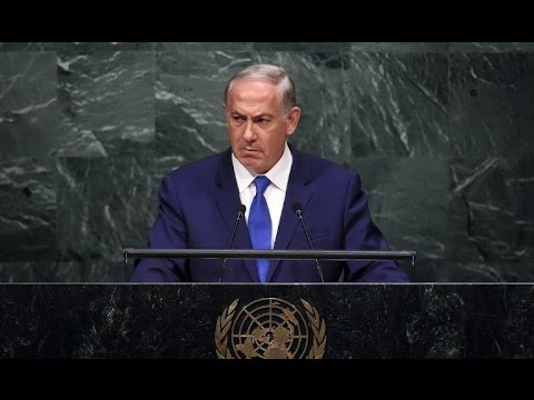 MUST WATCH Israel Netanyahu confronts all of United Nations October 2015 Breaking News