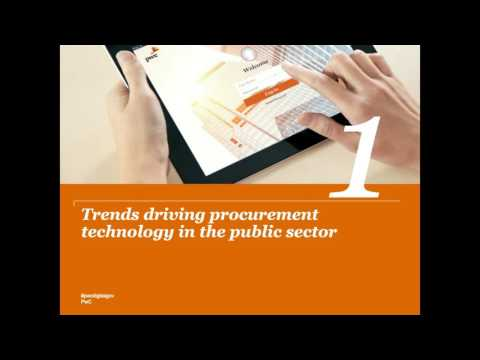 Procurement technology in the public sector