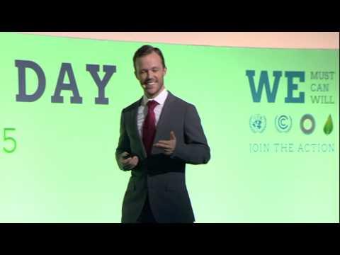 Action Day - intervention du PDG de PEG Ghana Hugh Whalan