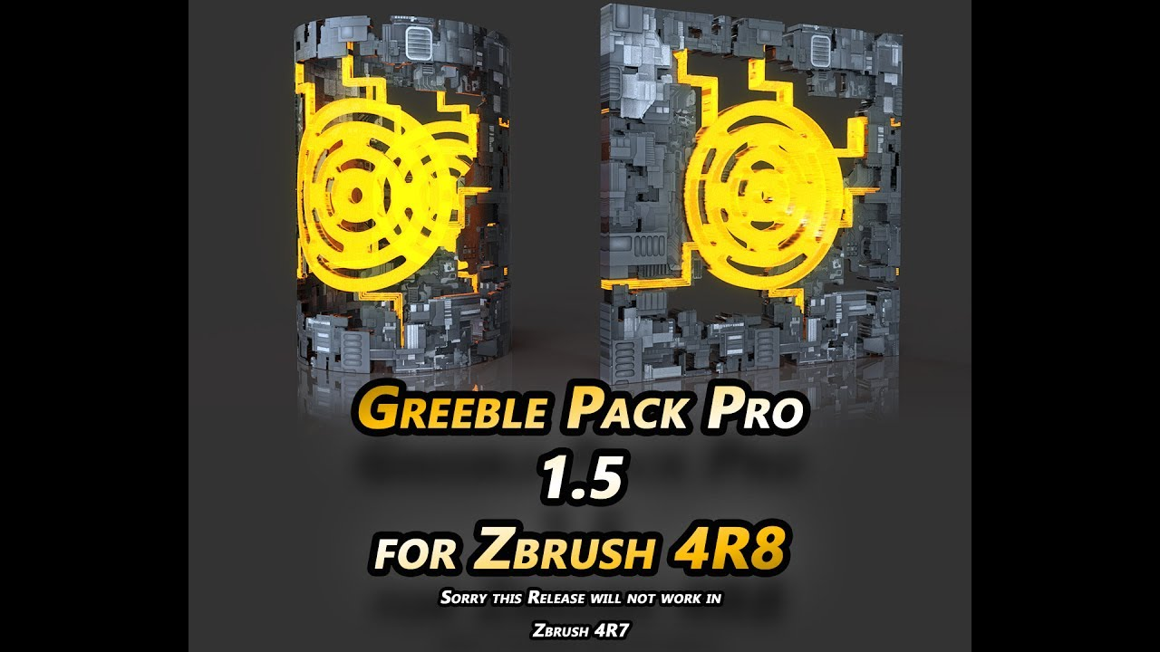 Greeble Pack Pro for Zbrush 4R7 - Page 9