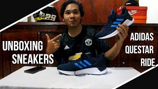 Unboxing Sneakers#1 Adidas Questar Ride Sneakers Yang Ringan dan Nyaman