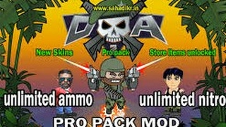 2017 Hack Mini Militia Unlimited Ammo Double Guns With Lucky Patcher