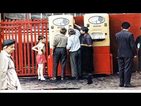 Как жили в СССР? Хроника в цвете конец 40-х годов.