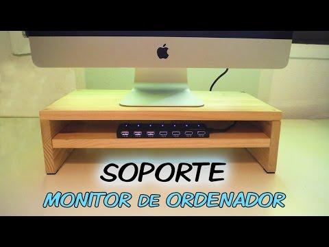 Soporte Para Monitor De Ordenador Con Usb Base Stand Pc