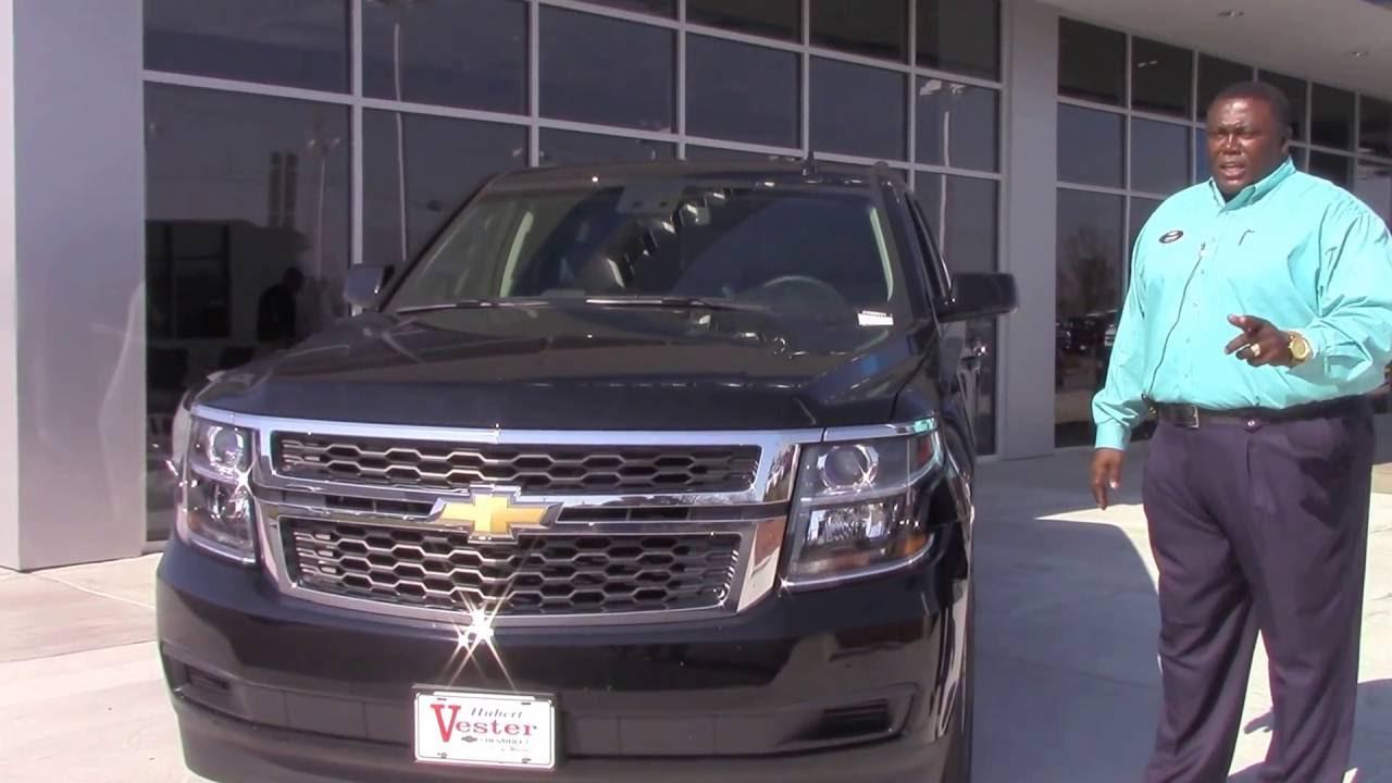 2016 Chevrolet Tahoe Hubert Vester Chevrolet Wilson, NC
