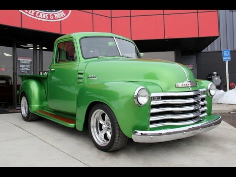 1953 chevrolet 5 window pickup for sale youtube for 1953 5 window
