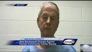 New charges filed against man accused of sexual assault