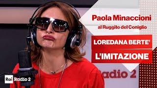 Loredana Bertè (Paola Minaccioni) al Ruggito del Coniglio