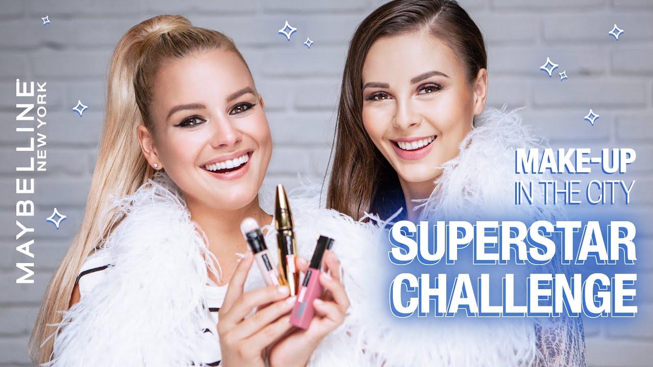 Make-up challenge: líčení ze SuperStar | Maybelline Make-up in the City S04 E08