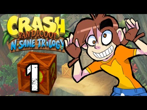 || Crash Bandicoot || - ( 1 ) Sonic's Ass Game HD