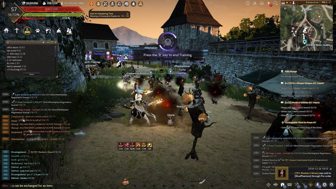TIPS 42: AFK COMBAT WITH BOOK OF TRAINING - AUTO LEVELING - BLACK DESERT  ONLINE SEA
