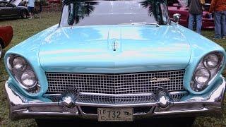 1958 Continental MarkIII Four Door Blu SilverSprings010916