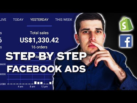 [GIVEAWAY] $0-$1,000 Days Step By Step Facebook Ads Tutorial   Shopify Dropshipping 2019 thumbnail
