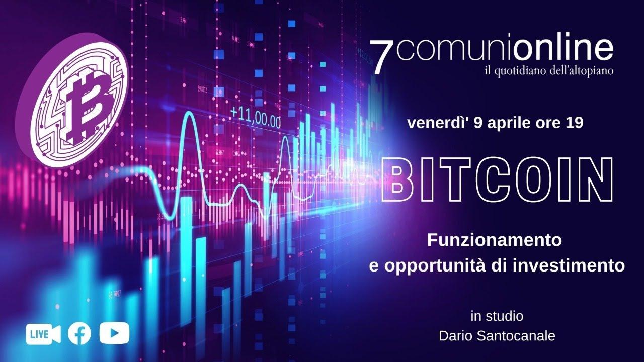 opportunità bitcoin