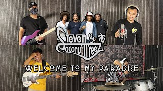 Steven & Coconut Treez - Welcome To My Paradise | REGGAE COVER by Sanca Records