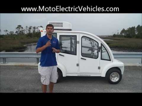 Electric Cart Air Conditioning| From Moto Electric Vehicles