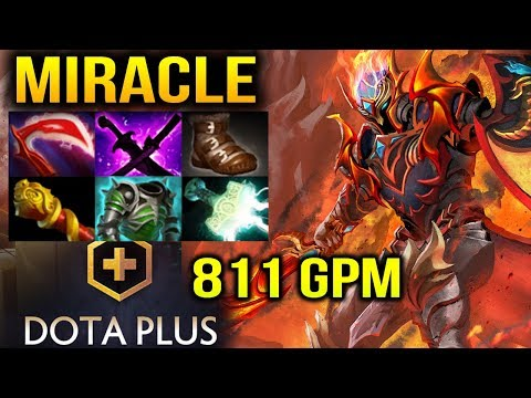 MIRACLE DK 811 GPM Look So EZ For Him Dota 2
