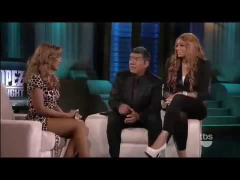 Lopez Tonight - Interview with Toni Braxton