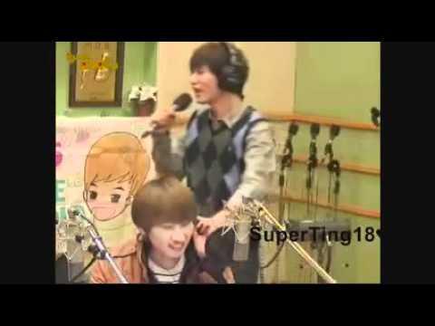 101117 KTR Sukira DJ Kyuhyun singing Hope is dream that doesn't sleep (live)