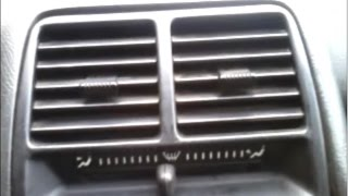 Дребезг дефлекторов отопителя (ПЕЧКА) ВАЗ 2110, 2111, 2112. Устраняем