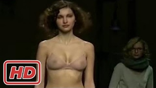 Lingerie Fahion Week Mashup - Extreme Sexy Runway Models Nipples Oops -the newest fashion