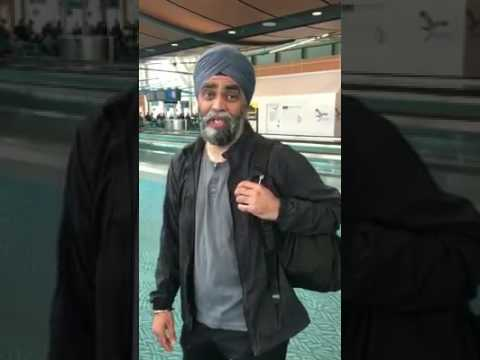 Follow my first trip to India as Canada's Minister of National Defence  Harjit Singh Sajjan