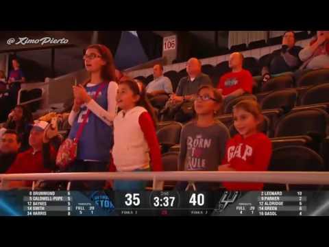 San Antonio Spurs vs Detroit Pistons   Full Game Highlights   Oct 10, 2016   2016 17 NBA Preseason