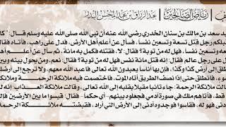 20- شرح حديث كان فيمن كان قبلكم رجل قتل تسعة وتسعين نفسا / الشيخ : عبدالرزاق بن عبدالمحسن البدر