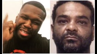 50 Cent Reacts To Jim Jones Getting Arrested In ATL