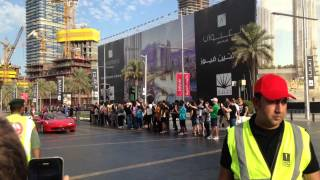 Dubai Motor Parade @ Downtown Dubai - 28-Nov-2014