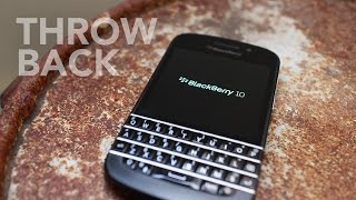 BlackBerry Q10 Throwback Bold Enough to be Different