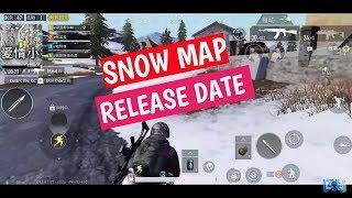 PUBG Mobile 0.10 Update   Snow Map *VIKENDI* confirmed release date