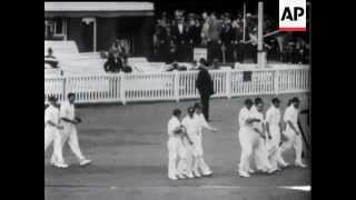 Cricket - England V India Test - 1932