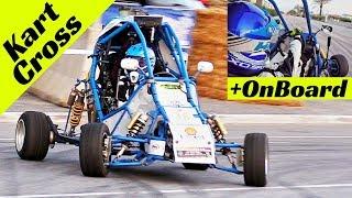 Homemade Kart-Cross by Nico Conti - Slalom Show & Madness at Italian Historic Cars Camaiore 2018