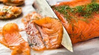 Cured Salmon Gravlax