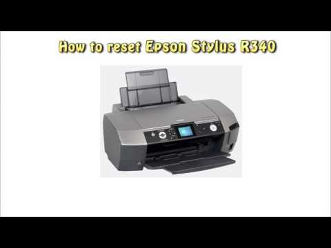 Reset Epson R340 Waste Ink Pad Counter