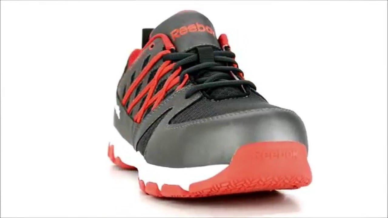 807bbf3bf9e Men s Reebok Steel Toe Work Shoe RB4005   Steel-Toe-Shoes.com - YouTube