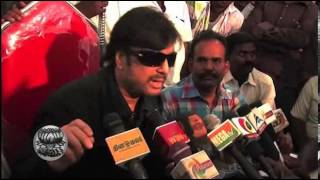 Actor KARTHIK Meets Press - Dinamalar Jan Tamil Video