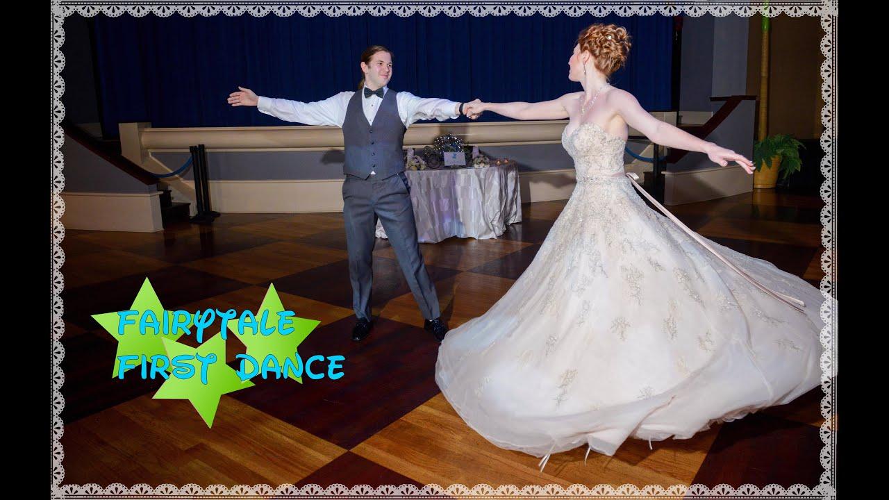 Our Fairytale First Dance Cinderella Disney Wedding To Ten Minutes Ago