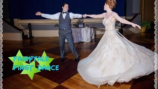 """Our Fairytale First Dance. @ Our Cinderella Disney Wedding. To """"Ten Minutes Ago"""""""