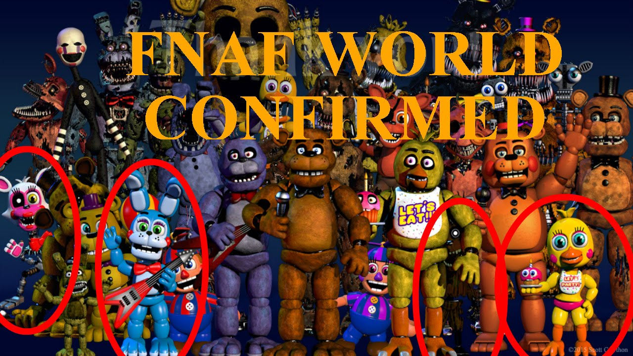 Scott cawthon s official new game new fnaf roleplay spin off game