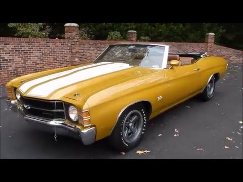 1971 Chevelle SS Convertible Placer Gold for sale Old Town ...