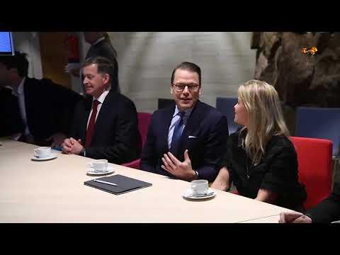 Prince Daniel visits Finland without Crown Princess Victoria