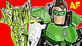 Green Lantern Ultra Build 4528 Lego Superheroes Stop Motion Review