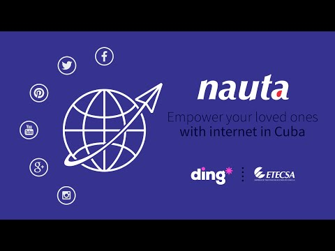 How to top-up a Nauta account using Ding