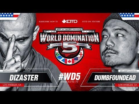 KOTD - Rap Battle - Dizaster vs Dumbfoundead | #WD5